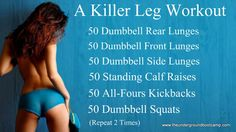 We have collected 16 of the best leg workouts from around the web, Facebook and Pinterest. These leg workouts are designed to build up the glutes, the hamstrings, the quads and the calves. Working the legs is also an incredible cardiovascular workout, to help you raise your heart rate and get you burning calories during and long after the workout.