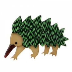 Erstwilder 'Egbert THE Echidna' Australiana Brooch Free Gift Discounts Apply Echidna, Quirky Gifts, Resin Jewelry, Jewellery, Animal Jewelry, Pin Up Girls, Free Gifts, Brooch Pin, Girl Outfits