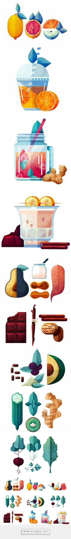 Maïté Franchi - Huffington Post on Behance... - a grouped images picture - Pin…