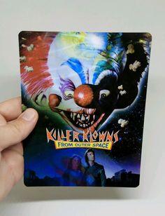 Killer Klowns from Outer Space magnet 3D lenticular Flip effect for Steelbook