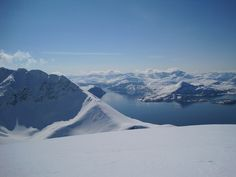 View from Redotinden to Lyngen Fjord in Norway, ski touring Flickr - Photo Sharing!