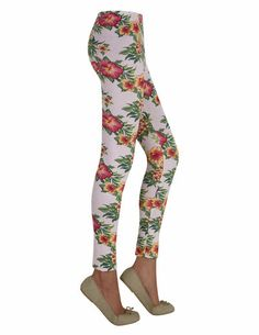 SuiteBlanco- Legging flores