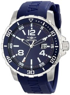 Invicta Men's 16727 SPECIALTY Analog Display Japanese Quartz Blue Watch ** You can get additional details at the image link. (This is an Amazon Affiliate link and I receive a commission for the sales)