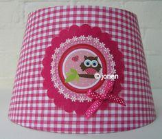 kinderlamp-wandlamp-staandelamp-uiltje-tak-fuchsia - � 32,95