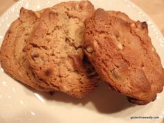 Paleo Fluffy Puffy Almond Butter (or Sunbutter) Cookies from Gluten-Free Easily