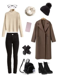 Winter in Tokyo❄️ by sfrtasya on Polyvore featuring polyvore, fashion, style, Vetements, Miss Selfridge, Black, Forever 21 and clothing