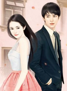 Find images and videos about girl, cute and art on We Heart It - the app to get lost in what you love. Cute Couple Art, Anime Love Couple, Chinese Drawings, Chinese Art, Hot Couples, Cute Anime Couples, Young Couples, Korean Art, Asian Art
