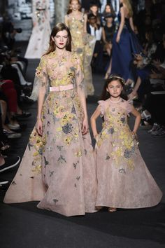 Elie Saab | Haute Couture | Fall 2016 - adorable
