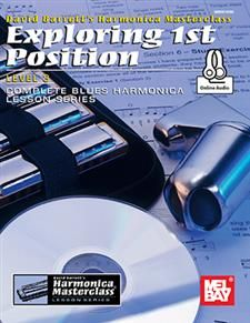 """Read """"Exploring Position, Level 2 Complete Blues Harmonica Lesson Series"""" by David Barrett available from Rakuten Kobo. The """"Exploring"""" series of books within the Harmonica Masterclass Lesson Series walks you through each of the m. Harmonica Lessons, Barrett, Blues, Master Class, Books Online, Book Worms, The Book, Free Apps, Audiobooks"""