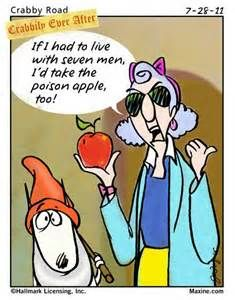 Maxine Cartoon on Living with Men