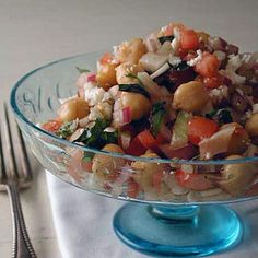 Italian garbanzo salad