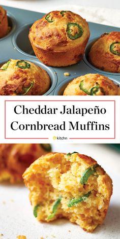 Recipe: Jalapeño Cheddar Cornbread Muffins — Recipes from The Kitchn