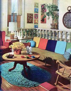 MCM HOME INTERIOR DECORATING Book Lot/3 Vntg MODERN ATOMIC Ranch,DESIGN PROJECT  #MeredithCorporation