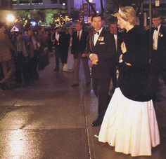 On May 1st in 1986...In the evening Charles and Diana attended a State Dinner at the Hyatt Regency Hotel, hosted by Prime Minister Brian Mulroney, and his wife Mila.