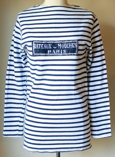 Vintage 1960s Sailor Inspired Striped French by VintageRosemond, $89.00
