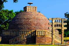 The Great Sanchi Stupa at Sanchi, near Bhopal, M.P. #RevisitHistorywithFujifilm