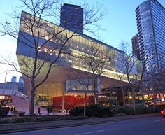 Juilliard School expansion.  Lincoln Center one of my favorite locales in NYC.