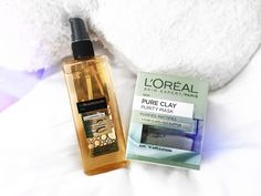NEW ON THE BLOG: My thoughts on the new L'Oreal clay mask and cleansing oil. http://leluroxx.blogspot.co.uk/2016/08/new-loreal-paris-pure-clay-purity-mask.html #bblogger #bbloggers #claymask #pureclay #cleansingoil #makeupremover #skincare #loreal #lorealparis #beautyblogger #beauty #beautyregime #makeup #healthyskin #spaday #pamper #girly