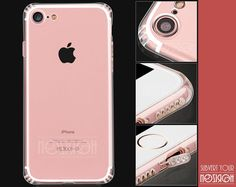 COVER SILICONE + VETRO TEMPERATO IPHONE 7 CASE FUNDA COQUE TPU MORBIDA NOZIROH