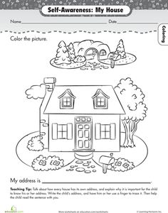 House and Home Theme and Activities for Preschool: Whether