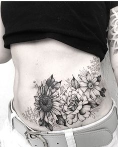 Best Picture For abdomen art For . Back Of Shoulder Tattoo, Shoulder Tattoos For Women, Arm Tattoos For Women, Lower Stomach Tattoos For Women, Lower Belly Tattoos, Rose Tattoo Cover Up, Scars Tattoo Cover Up, Tribal Tattoos, Hip Tattoos