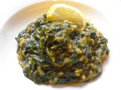 How to make the best Spanakorizo(Spinach cooked with rice)