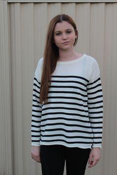 French Stripe Knit