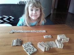 Domino from Wood