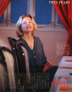 Twin Peaks Retweeted ブラックロッジ: 赤いカーテンの部屋で シェリル・リー