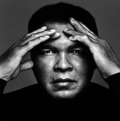 Muhammad Ali; I met him in Miami Beach, got my picture taken with him, he couldn't speak but smiled at me a lot, lifetime memory..
