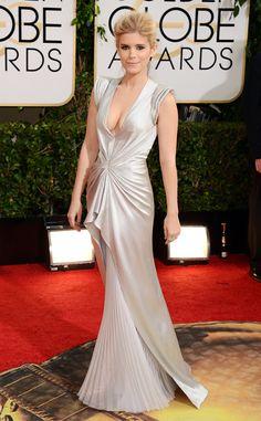 Kate Mara from 2014 Golden Globes: Red Carpet Arrivals | J. Mendel | Eiseman Style | Red Carpet