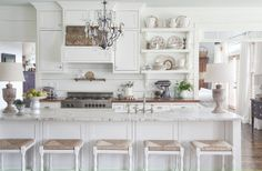 Driven By Décor: House Beautiful's 2012 Color Report #laylagrayce #kitchen #white