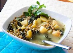 Lemon, Kale and Lentil Soup: Lemon, Kale and Lentil Soup