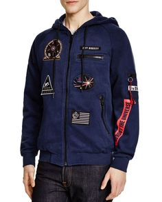 Eleven Paris Magala Zip Hoodie - Compare at $155   Cotton/polyester   Machine…