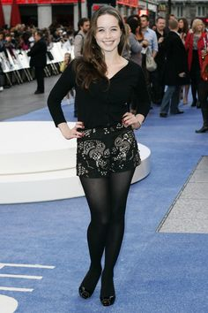 Anna Popplewell in pantyhose - More pictures here: http://stockings-celebs.blogspot.com/2013/06/anna-popplewell-in-pantyhose.html
