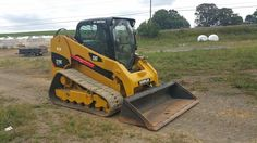 2009 Caterpillar 279C Compact Track Skid Steer Loader Diesel Heavy Machinery Cab