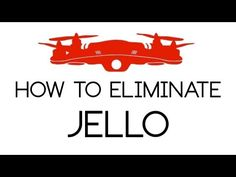 DJI Phantom Footage - How to Eliminate Jello Phantom Drone, Flying Drones, Drone Quadcopter, Aerial Photography, Jello, Tech, Cops, Robots, Youtube