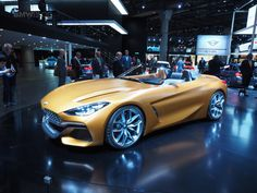 2017 Frankfurt Auto Show: The new BMW Concept Z4 is a beauty :  Another BMW concept to debut today at the 2017 Frankfurt Auto Show is the Z4 Roadster which was first shown this summer in Pebble Beach.Adrian Van Hooydonkpresented the carwhich previews the production roadster out in 2018.The production Z4 is a joint project between BMW and Toyota. The platform will also underpin a Toyota sports car thats expected to be the long-awaited successor to the Supra.  The BMW/Toyota partnership will…