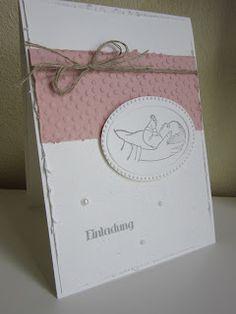 Stempel - Schere & Papier: Taufkarte Nummer 3 ....