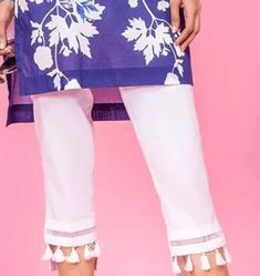To place order DM us or whatsapp us with image on 6394837380 Kurti Sleeves Design, Sleeves Designs For Dresses, Dress Neck Designs, Latest Pakistani Dresses, Pakistani Dress Design, Indian Dresses, Frock Fashion, Fashion Pants, Frilly Shirt