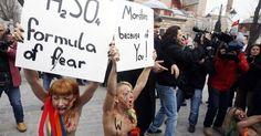 Quando as Femen vão vir ao Brasil?