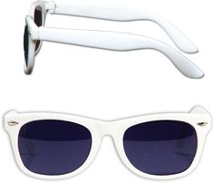 Adult Size White Blues Brothers Sunglasses Case Pack 300