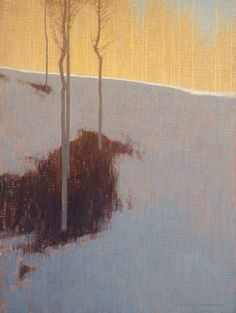 "<span class=""artist""><strong>David Grossmann</strong></span>, <span class=""title""><em>February Lines and Patches</em></span>"