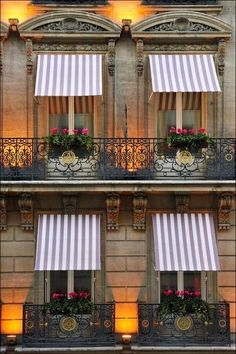 Eye For Design: Decorating With Awnings / Shutters to add shade