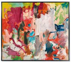 Willem de Kooning (Dutch American, 1904-1997), Untitled XXV, 1977. Oil on canvas, 195.7 x 223.5 cm. De Kooning painting sells for record $66m