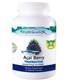Natures Happiness - Fruitrients Acai Berry, 60ct, $14.96 (http://www.natureshappiness.com/fruitrients-acai-berry-60ct/)