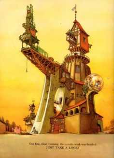 """""""The House That Beebo Built"""" (1975). Written by Philippe Fix, illustrated by Alain Gree. A childhood favourite now long out of print."""