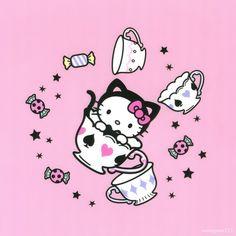 <3 #HelloKitty #AliceinWonderland ^_−☆