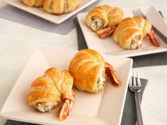 PUFF PASTRY WRAPPED JUMBO SHRIMP