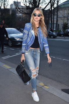 Best dressed - Gigi Hadid. Click through to see this week's best dressed list
